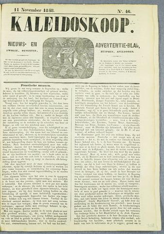 De Kaleidoskoop (1846-1851) 1848-11-11