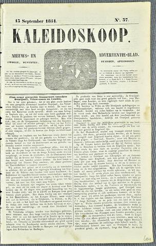 De Kaleidoskoop 1851-09-13