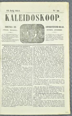 De Kaleidoskoop 1851-07-12