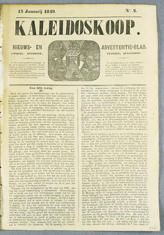 De Kaleidoskoop (1846-1851) 1849-01-13