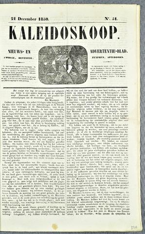 De Kaleidoskoop (1846-1851) 1850-12-21