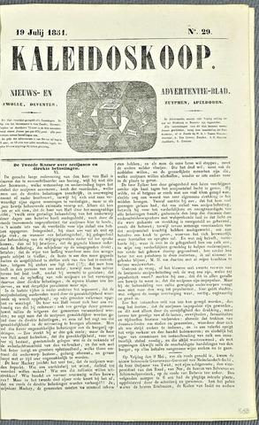 De Kaleidoskoop 1851-07-19