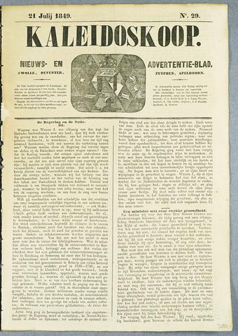 De Kaleidoskoop (1846-1851) 1849-07-21