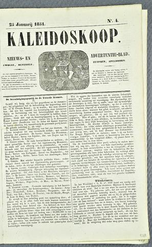 De Kaleidoskoop 1851-01-25