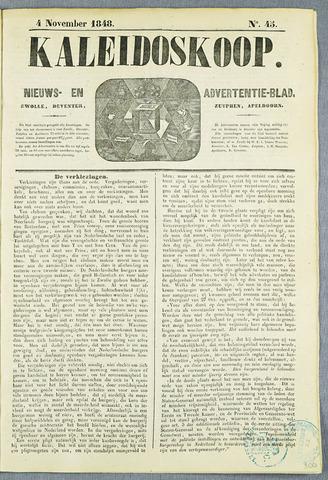 De Kaleidoskoop (1846-1851) 1848-11-04
