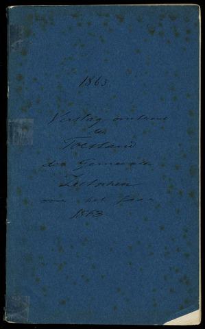 Jaarverslagen gemeente Zutphen 1863-12-31