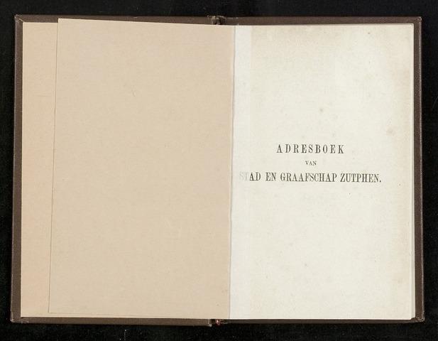 Adresboeken Zutphen 1864-12-31