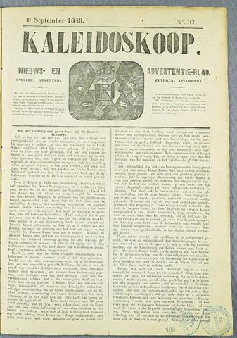 De Kaleidoskoop (1846-1851) 1848-09-09