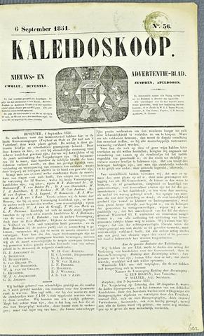 De Kaleidoskoop 1851-09-06