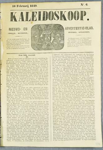 De Kaleidoskoop (1846-1851) 1849-02-10