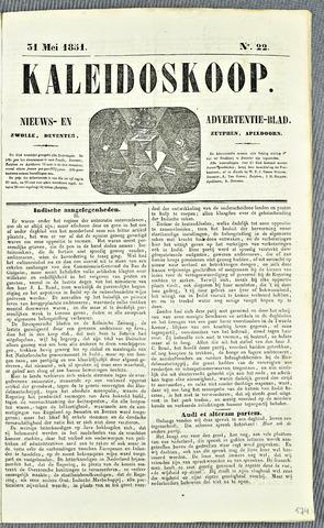 De Kaleidoskoop 1851-05-31