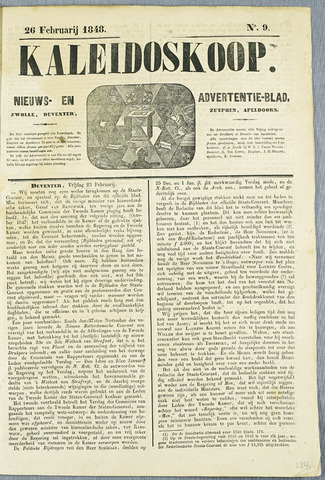 De Kaleidoskoop (1846-1851) 1848-02-26