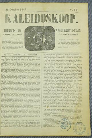 De Kaleidoskoop (1846-1851) 1846-10-31