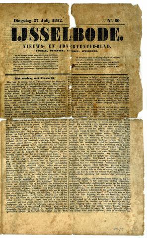 De IJsselbode (1852) 1852-07-27
