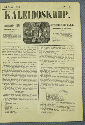 De Kaleidoskoop (1846-1851) 1846-04-18