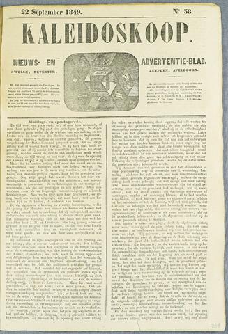 De Kaleidoskoop (1846-1851) 1849-09-22