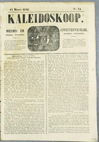De Kaleidoskoop (1846-1851) 1848-03-11