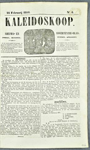 De Kaleidoskoop 1851-02-22