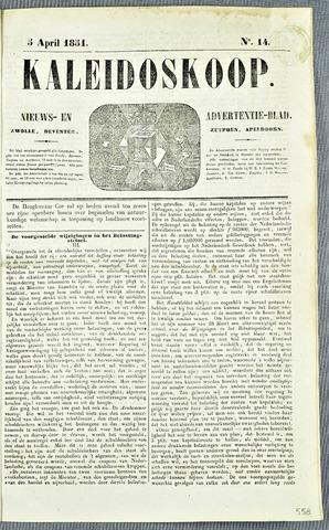 De Kaleidoskoop 1851-04-05