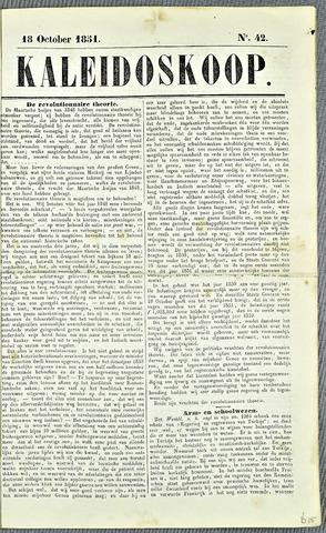 De Kaleidoskoop 1851-10-18