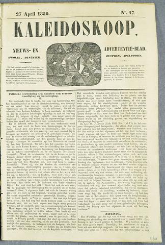 De Kaleidoskoop (1846-1851) 1850-04-27