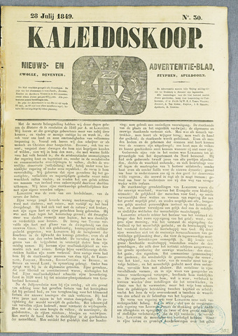 De Kaleidoskoop (1846-1851) 1849-07-28