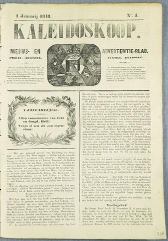 De Kaleidoskoop (1846-1851) 1848-01-01