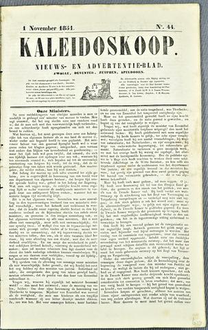 De Kaleidoskoop 1851-11-01