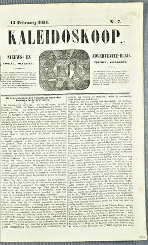 De Kaleidoskoop 1851-02-15