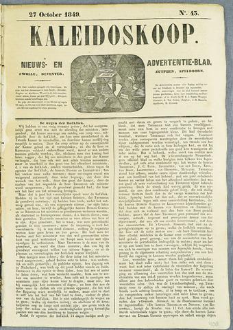 De Kaleidoskoop (1846-1851) 1849-10-27