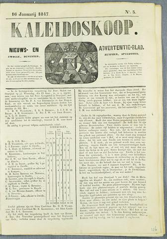 De Kaleidoskoop (1846-1851) 1847-01-16