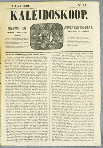De Kaleidoskoop (1846-1851) 1849-04-07
