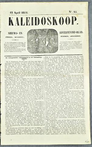 De Kaleidoskoop 1851-04-12