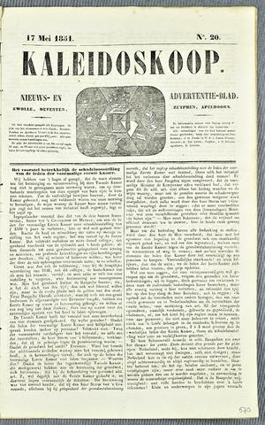De Kaleidoskoop 1851-05-17