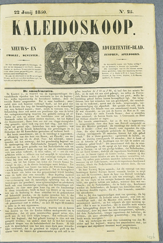 De Kaleidoskoop (1846-1851) 1850-06-22