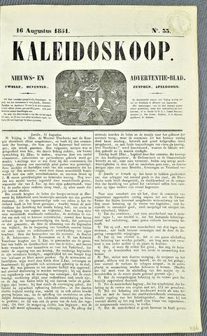 De Kaleidoskoop 1851-08-16