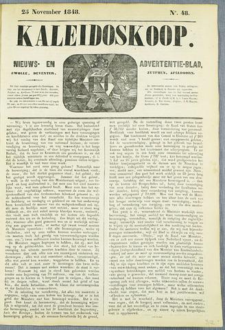 De Kaleidoskoop (1846-1851) 1848-11-25
