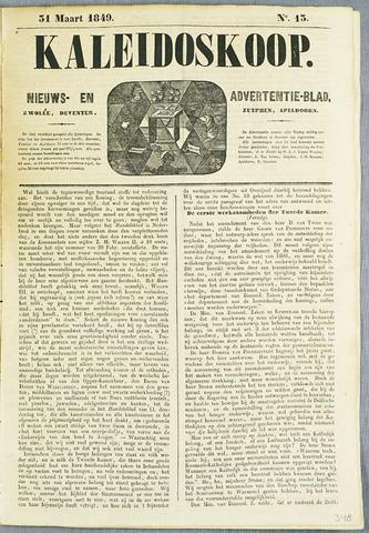 De Kaleidoskoop (1846-1851) 1849-03-31