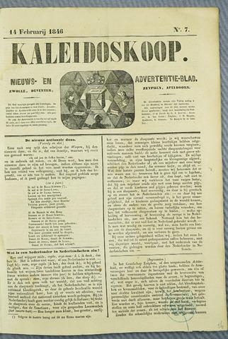 De Kaleidoskoop (1846-1851) 1846-02-14