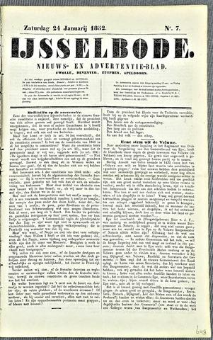 De IJsselbode (1852) 1852-01-24