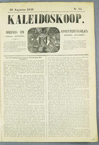 De Kaleidoskoop (1846-1851) 1848-08-26