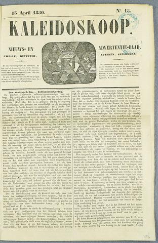 De Kaleidoskoop (1846-1851) 1850-04-13
