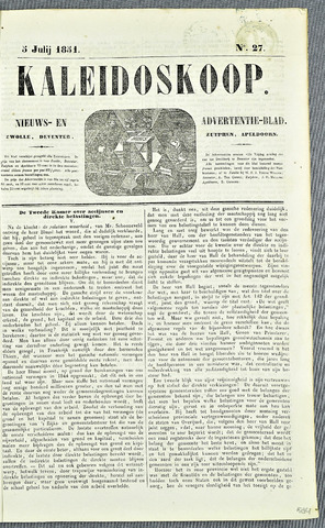 De Kaleidoskoop 1851-07-05