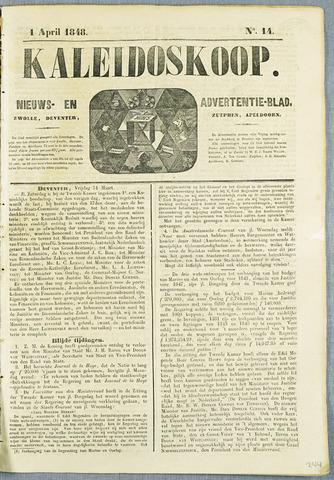De Kaleidoskoop (1846-1851) 1848-04-01