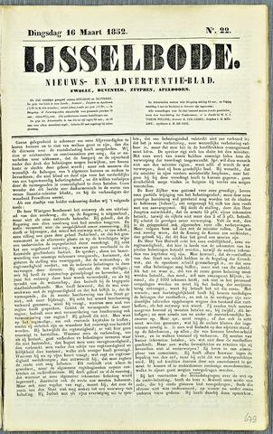 De IJsselbode (1852) 1852-03-16