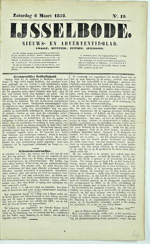 De IJsselbode (1852) 1852-03-06