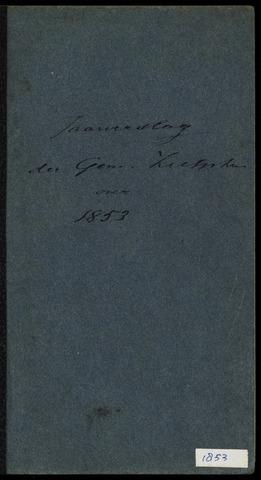 Jaarverslagen gemeente Zutphen 1853-12-31