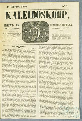 De Kaleidoskoop (1846-1851) 1849-02-17