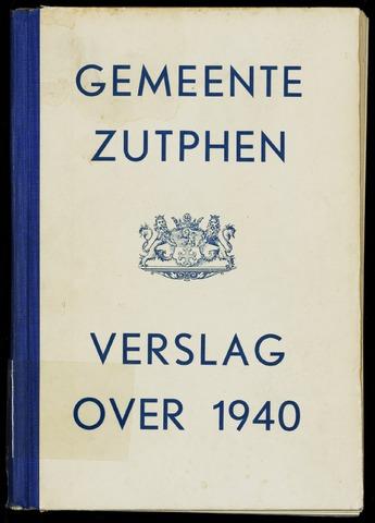 Jaarverslagen gemeente Zutphen 1940-12-31