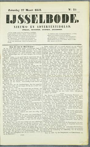 De IJsselbode (1852) 1852-03-27